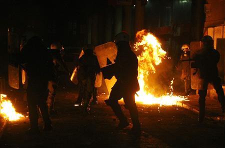 OFRTP-GRECE-EMEUTES-VIOLENCES-20081214