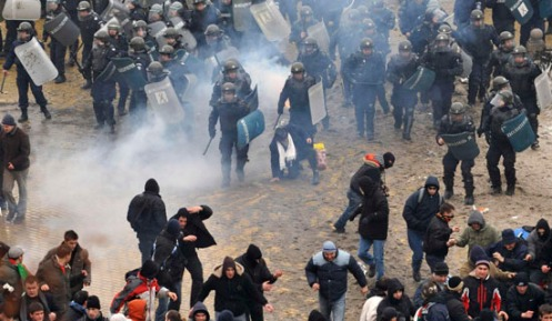 BULGARIA-PROTEST/CLASHES