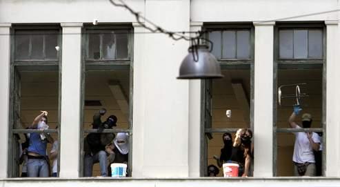 APTOPIX GREECE STUDENTS PROTEST