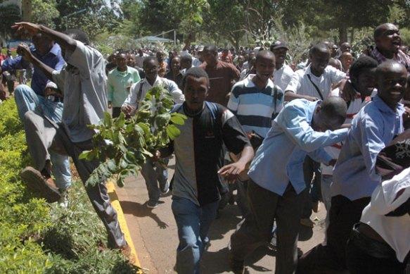 Emeutes universitaires au Kenya mars 2009 | anthropologie du
