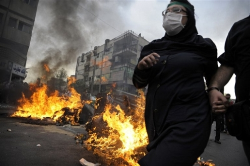 IRAN-VOTE-UNREST