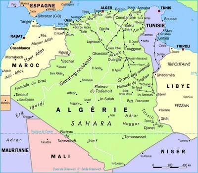 Carte-algerie