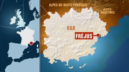 carte-de-frejus-dans-le-var-4022485asqkg