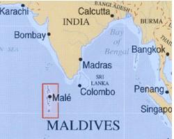 maldives carte du monde Révolte d'une prison aux Maldives – octobre 2009 | anthropologie