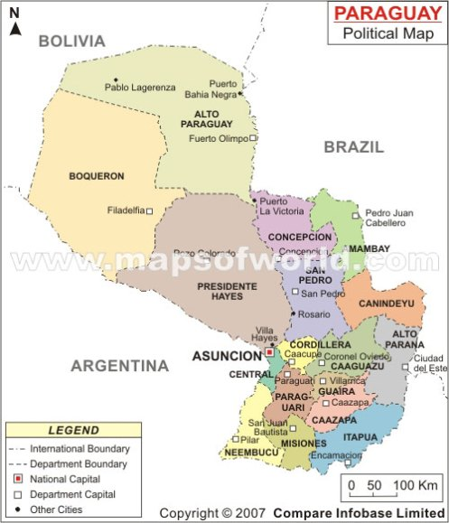 paraguay-map