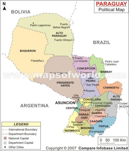 paraguay-map