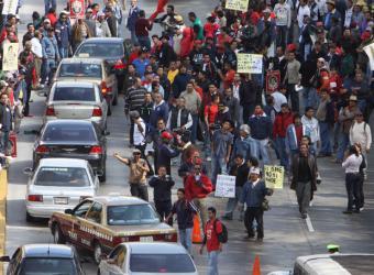 Mexico_DF_bloqueada_protestas