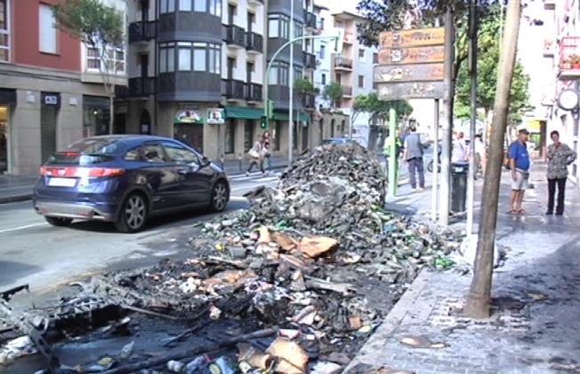 Violence au Pays Basque espagnol - août 2010 (2/3)