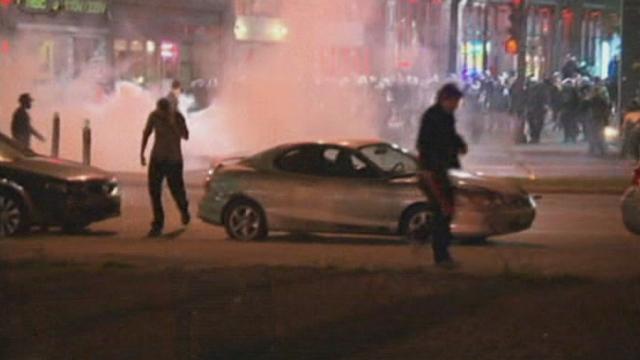 Université : affrontements à Montréal - 18 mai 2012 - Les vidéos