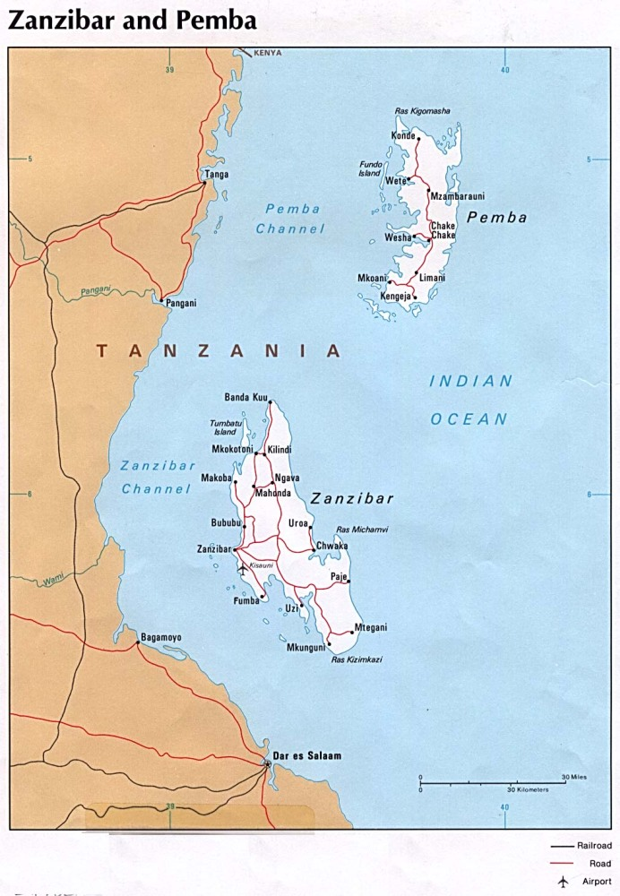 Emeute et églises brûlées à Zanzibar - 27 mai 2012