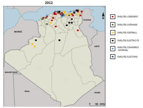 algérie 2012