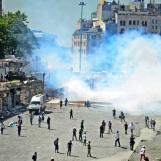 Turkey-Unrest-Taksim-Turkish-Police-Intervene