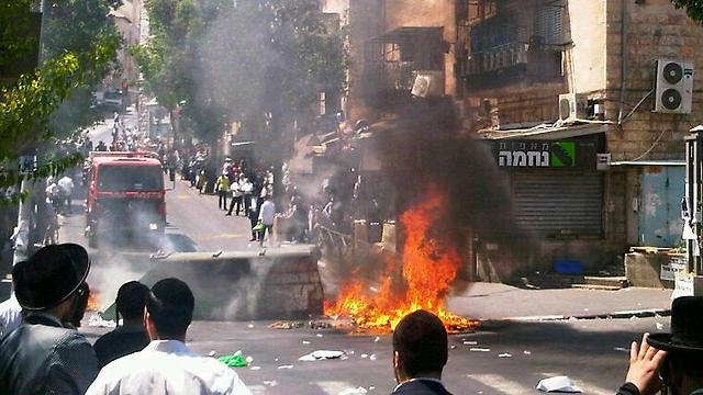 Shemesh Word: Ultra Orthodoxes : émeute à בית שמש Beit Shemesh