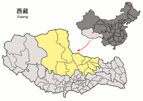 280px-Location_of_Nagchu_Prefecture_within_Xizang_(China)