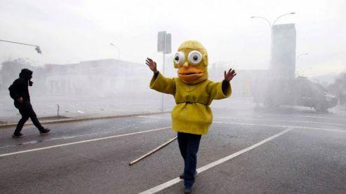 APTOPIX Chile Student Protest-1